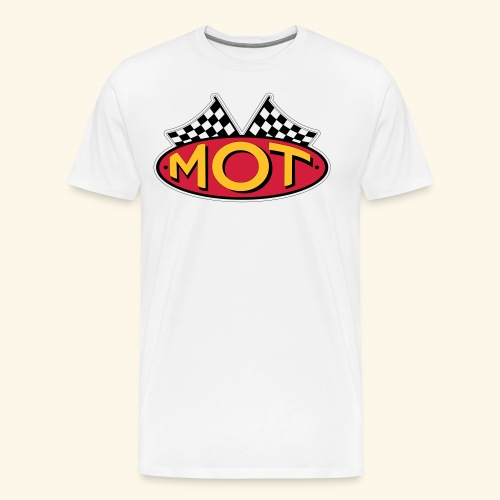 Mean OldTimers Logo T - Men's Premium T-Shirt