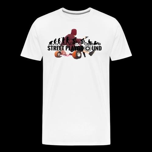 Streetplayground Öl-Logo - Männer Premium T-Shirt
