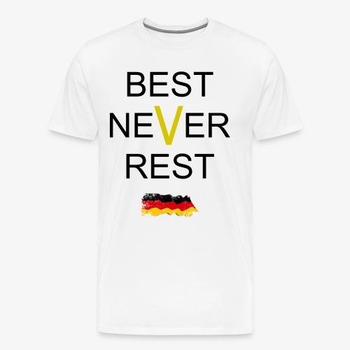 BESTNEVERREST - Männer Premium T-Shirt