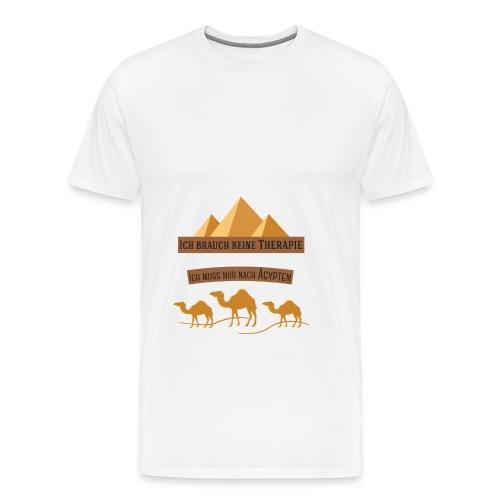 egypt Therapie - Männer Premium T-Shirt