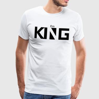 Jeg er konge - Herre premium T-shirt