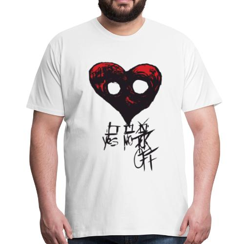 NoLove - Männer Premium T-Shirt