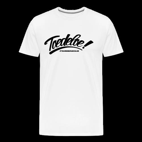 toedeloe zwart - Mannen Premium T-shirt