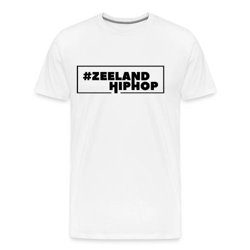 Zeeland Hiphop T Shirt Black logo Men - Mannen Premium T-shirt