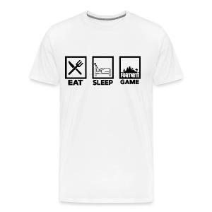 Eat, Sleep, Game - Men's Premium T-Shirt