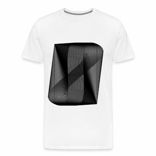 MOIRÉ II [Noir] - T-shirt Premium Homme