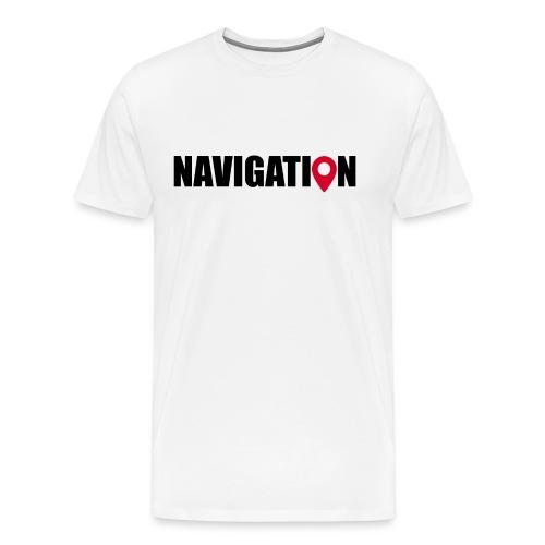 NAVIGATION - T-shirt Premium Homme