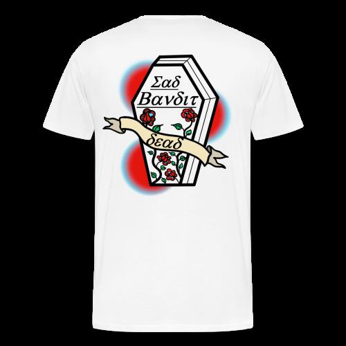 SadBandit Casket - Premium-T-shirt herr