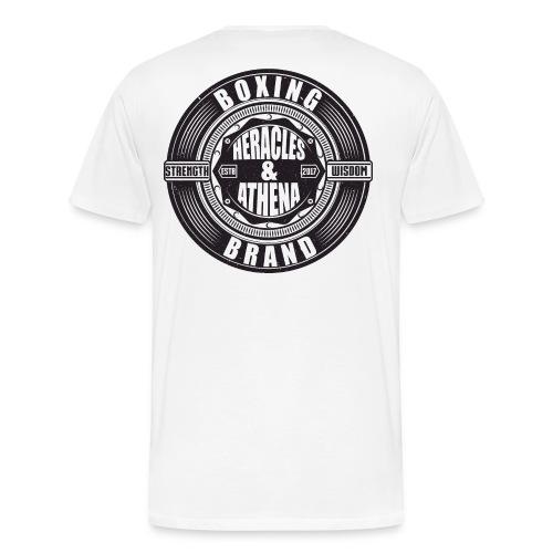 Heracles and Athena Emblem - Männer Premium T-Shirt