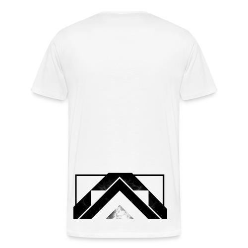 Half White Mist - Men's Premium T-Shirt