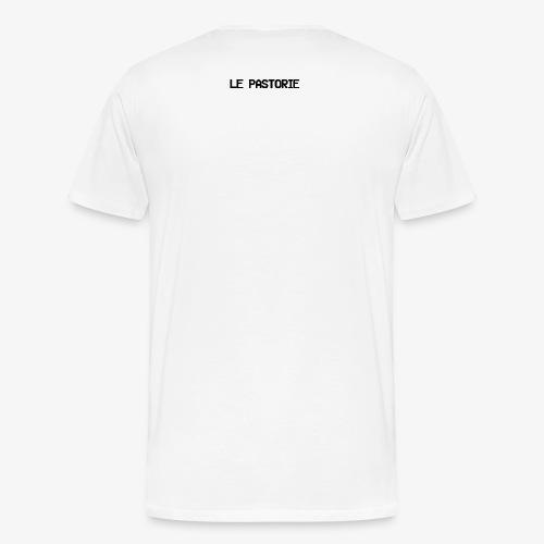 Subtiel_Zwart - Mannen Premium T-shirt