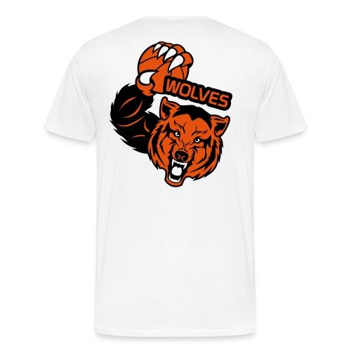 Wolves Basketball - T-shirt Premium Homme