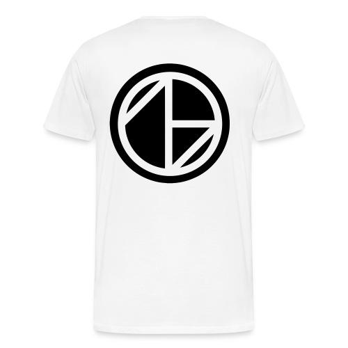 Ghost Nation Big Logo - Premium-T-shirt herr