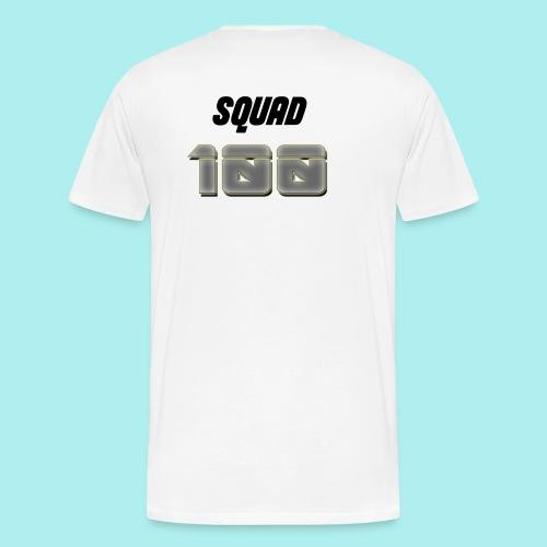 METTALIC 100 SUBSCRIBERS - Men's Premium T-Shirt