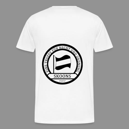 Eine Truppe für Recht und Ordnung - SKOONS - Männer Premium T-Shirt