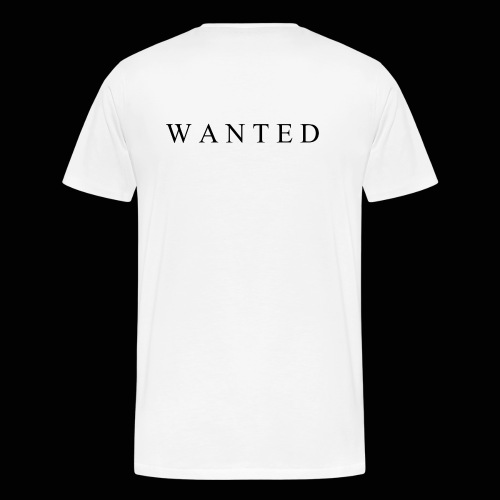 Wanted ecrit - T-shirt Premium Homme
