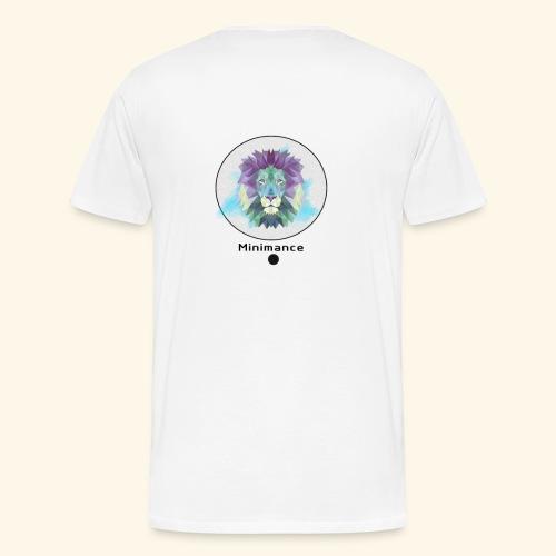 GEOMETRIC LION - T-shirt Premium Homme