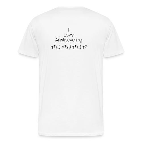 I love artisticcycling - Männer Premium T-Shirt
