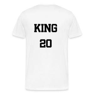 King 20 - Männer Premium T-Shirt