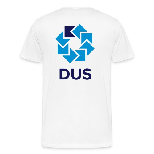 Kotlin User Group Düsseldorf Logo - No Border - Männer Premium T-Shirt