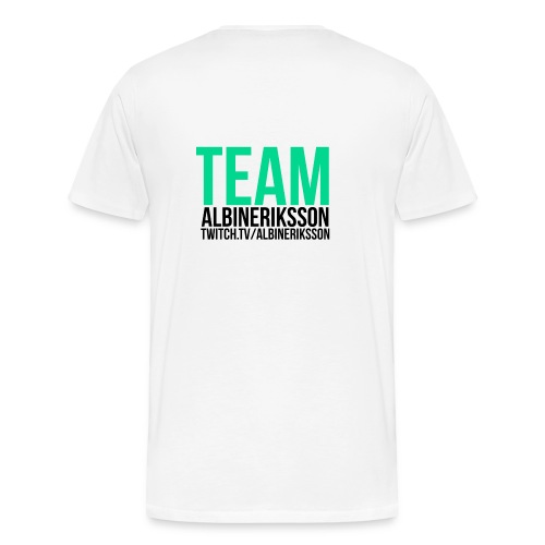 Team albinerikss0n Svart - Premium-T-shirt herr
