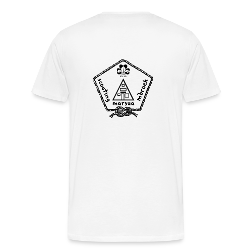 Marsua Zwart - Mannen Premium T-shirt