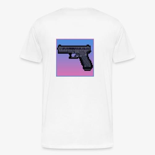 Vice City Glock - T-shirt Premium Homme