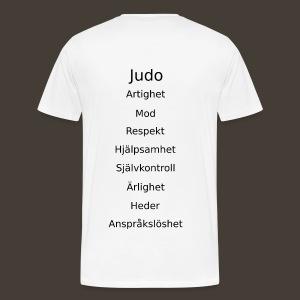 Kodord - Premium-T-shirt herr