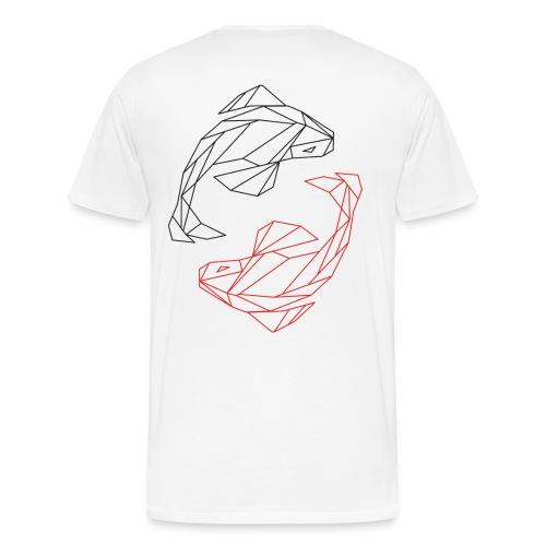 Ying_Yang_Kois - Männer Premium T-Shirt