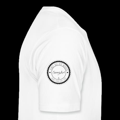 SannyArt Logo - Männer Premium T-Shirt