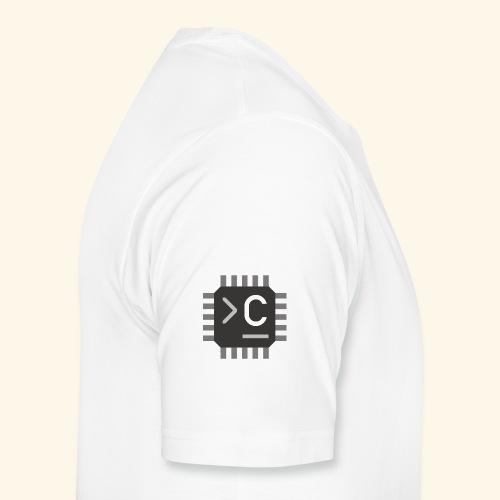 Chaotikum Logo Quadratisch - Männer Premium T-Shirt