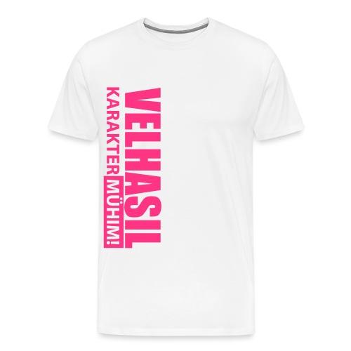 Velhasil Karakter Mühim! - Männer Premium T-Shirt