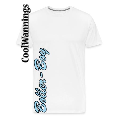 boller boy schrift - Männer Premium T-Shirt