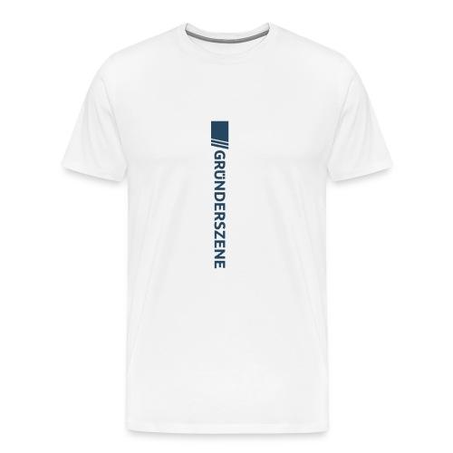 Gruenderszene_Logo_CMYK_4 - Männer Premium T-Shirt