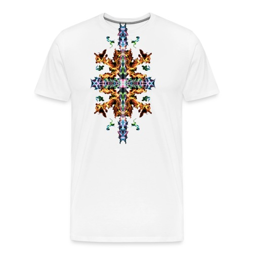 Colourful Fire - Men's Premium T-Shirt