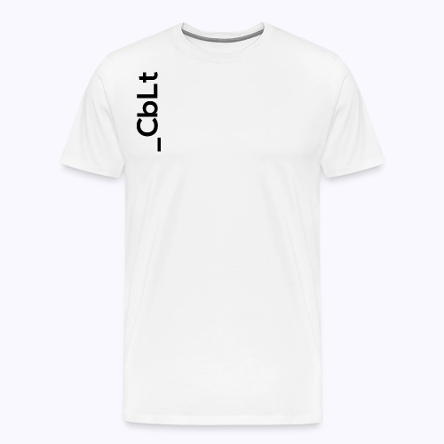 CbLt Logo - Men's Premium T-Shirt