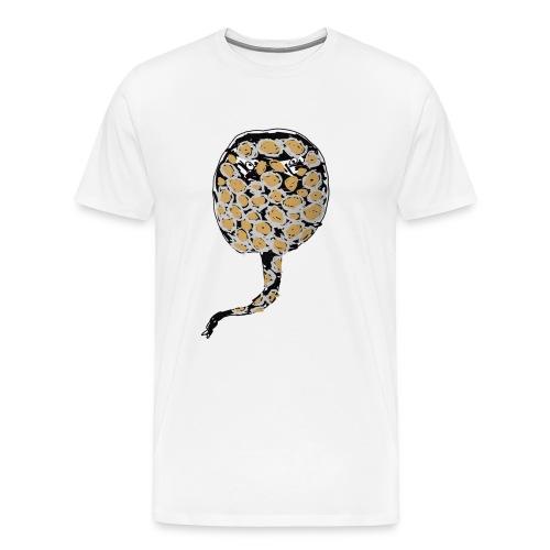 P. snow leopard - Premium-T-shirt herr