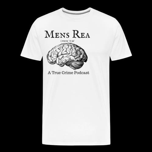 Guilty Mind Mens rea Logo - Men's Premium T-Shirt