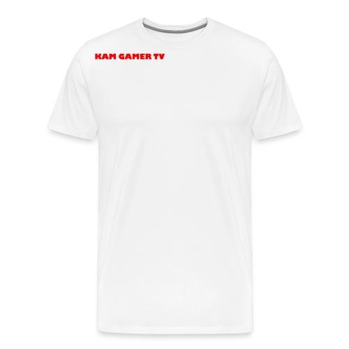 Kam Gamer Tv 9MN95B1X Range - Men's Premium T-Shirt