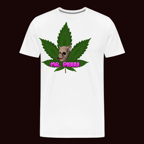 Mr. Piggy weed (gta5) - Men's Premium T-Shirt