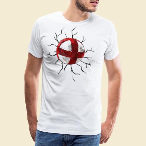 Radball | Cycle Ball Crash - Männer Premium T-Shirt