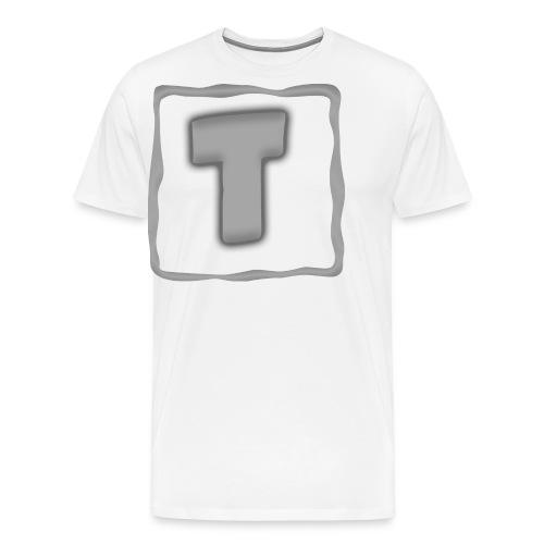 Logo Tuber - Männer Premium T-Shirt