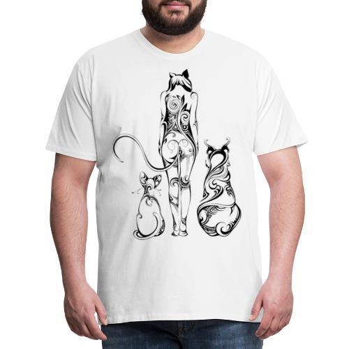 Catwoman - Männer Premium T-Shirt