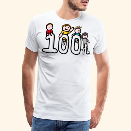 100th Video - Men's Premium T-Shirt