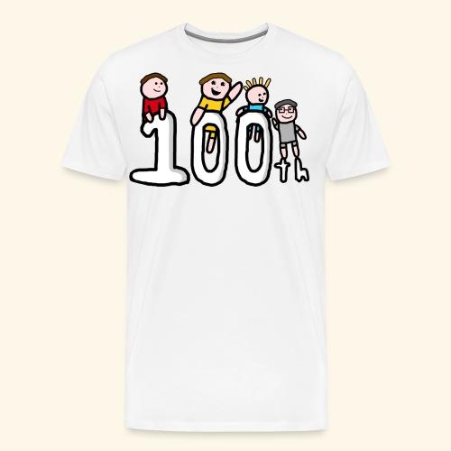100th Video - Men's Premium T-Shirt