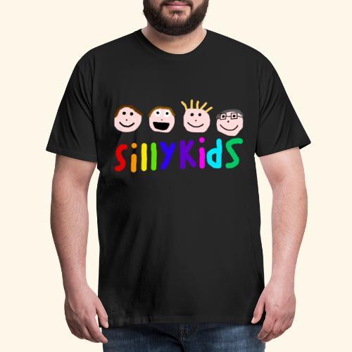 Sillykids Logo - Men's Premium T-Shirt