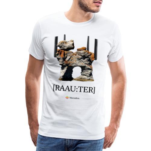 RAAU:TER - Premium-T-shirt herr