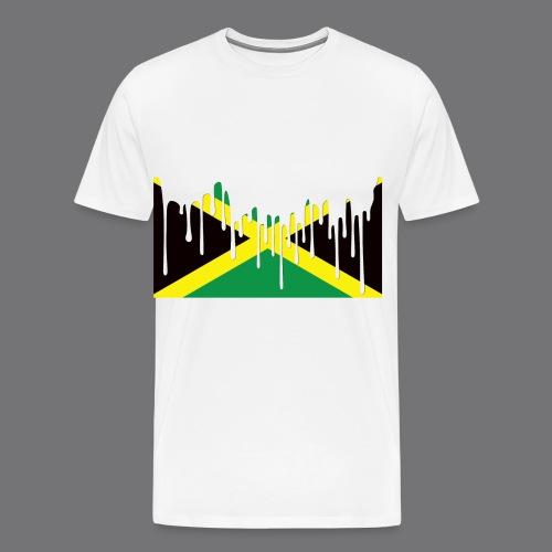 JAMAICAN FLAG Tee Shirts - Men's Premium T-Shirt