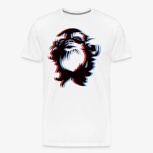 Der verrückte Affe - Männer Premium T-Shirt