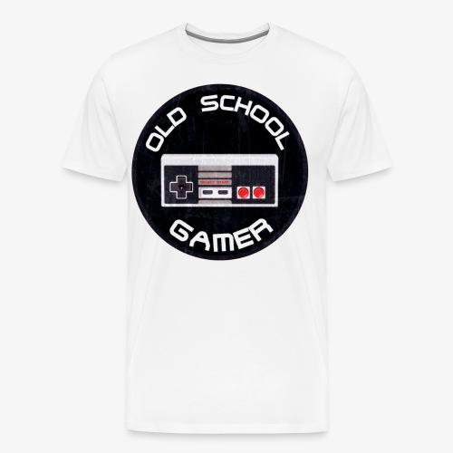 Old School Gamer - Männer Premium T-Shirt